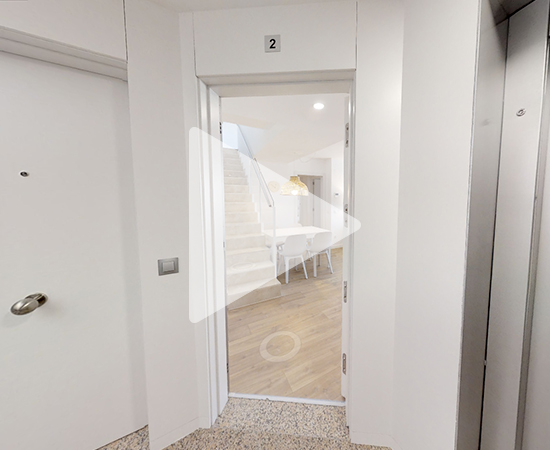 Video 3d piso obra nueva Cornellà de Llobregat