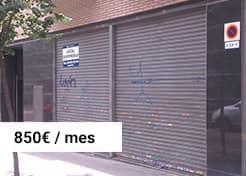 Local en Calle Xifré 1 (Barcelona) Alquiler