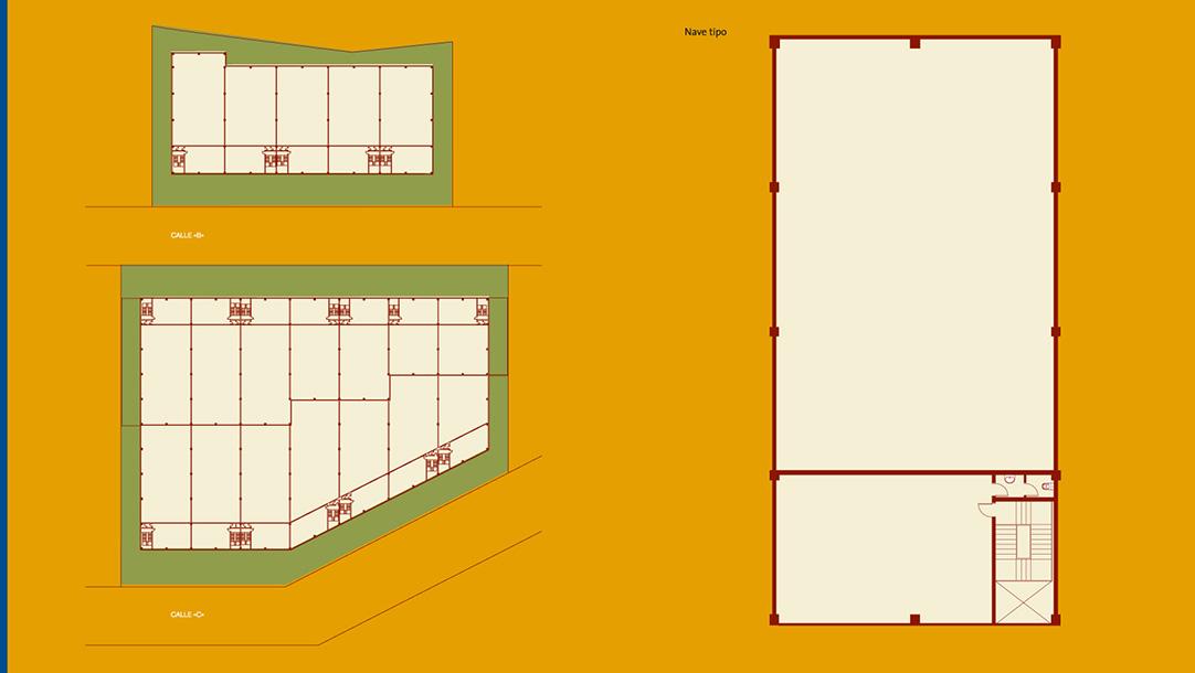 Nave Industrial Alquiler Sant Andreu Barca Polígono La Clota plano 1