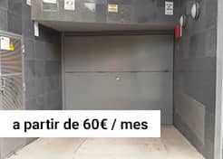 Parking en C/ Garcilaso – Pasaje Coello (Barcelona)