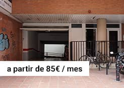 Parking en calle Leiva 49 – Hostafrancs (Barcelona)