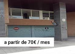 Parking en Ctra. Esplugues 47 (Cornellà de Llobregat)