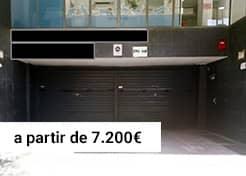 Parking calle Riera Basté 22 – Marianao (Sant Boi de Llobregat)