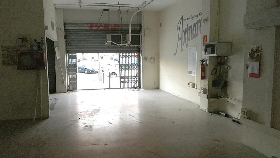 Local Sant Adrià del Besós Avinguda Corts Catalanes vista interior