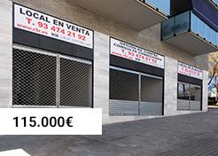 Local Avenida Frederic Mompou (Sant Boi de Llobregat)