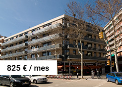 Vivienda de alquiler C/ Garcilaso 117 – Zona La Sagrera (Barcelona)