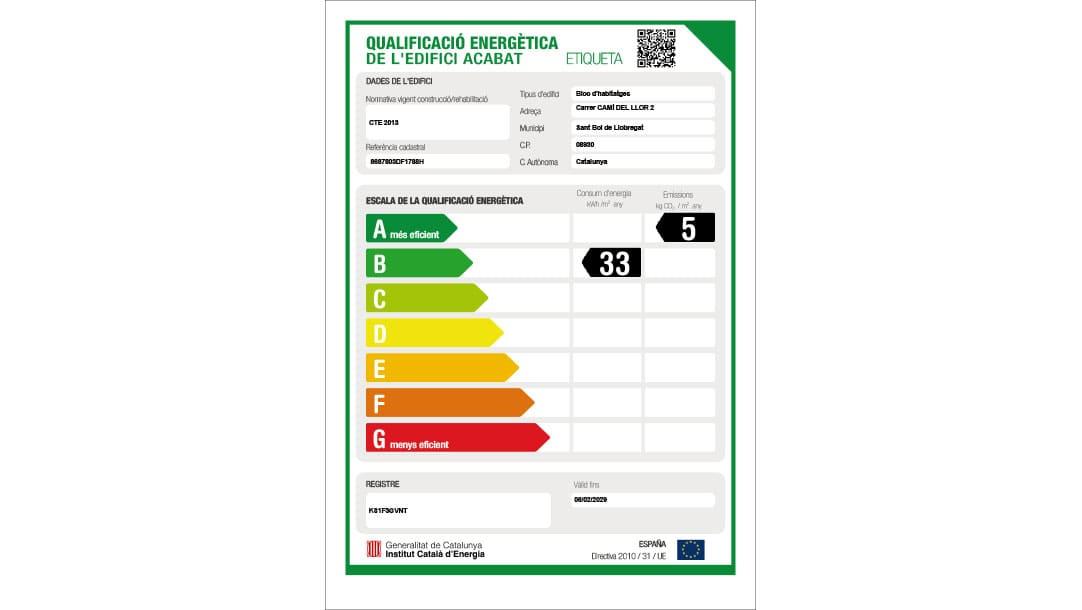 Local en venta / alquiler en Sant Boi Llobregat Ronda Sant Ramon - certificado energetico