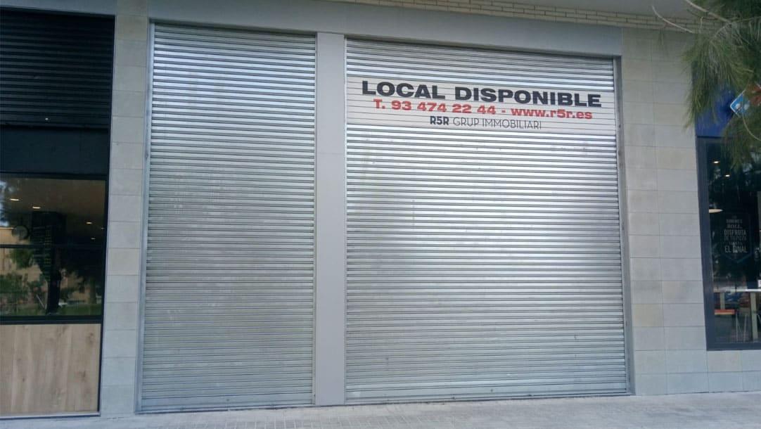 Local en venta / alquiler en Sant Boi Llobregat Ronda Sant Ramon - Fachada principal