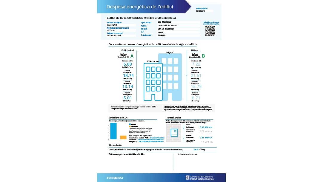 Local en venta / alquiler en Sant Boi Llobregat Ronda Sant Ramon - certificado energetico 2